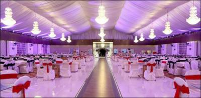 ایس اوپیز پر عملدرآمد کی تیاریاں: شادی ہالز اور بینکویٹس کی چھتیں اتارنے کاکام شروع