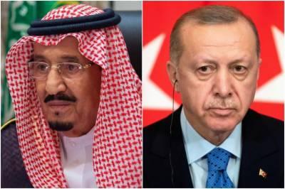 ترک صدر اور سعودی شاہ کا ٹیلیفونک رابطہ