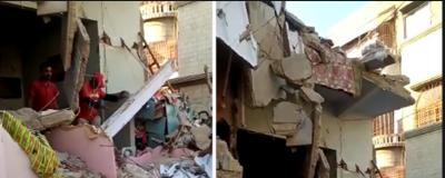 نیو کراچی،گیس سلنڈر دھماکا، 1شخص جاں بحق،3زخمی