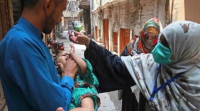 پاکستان میں 3 کروڑ 90 لاکھ بچوں کو پولیو کے قطرے پلانے کی مہم کا آغاز
