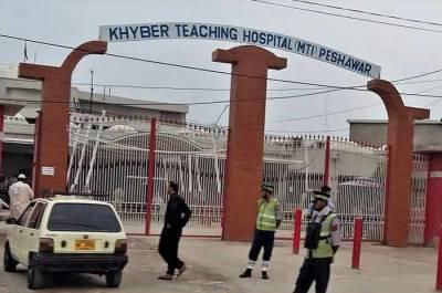 پشاور :خیبر ٹیچنگ ہسپتال میں آکسیجن کی کمی کے باعث 7 مریض جاں بحق