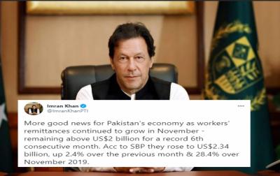 پاکستان کی معیشت کیلئے مزید اچھی خبریں آرہی ہیں:وزیراعظم عمران خان