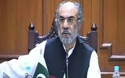 سابق وزیر اعلی نواب اسلم رئیسانی نے بلوچستان اسمبلی سے مستعفی ہونے کا فیصلہ کرلیا۔
