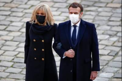 فرانسیسی صدرکی اہلیہ کا کورونا ٹیسٹ منفی آگیا