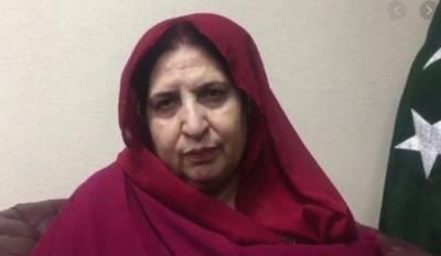 پاکستان مسلم لیگ نون کی سینیٹر کلثوم پروین کورونا کے باعث انتقال کرگئیں