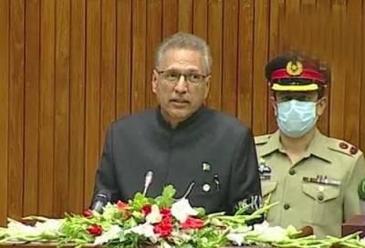 پاکستان مقبوضہ کشمیر کے عوام کی سیاسی ، سفارتی اور اخلاقی حمایت جاری رکھے گا۔ صدر مملکت