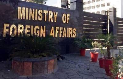 ایل او سی پر فائرنگ:بھارتی سینئر سفارتکار دفترخارجہ طلب،احتجاج ریکارڈ