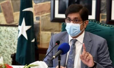 سندھ کو گیس سے محروم کرنا آرٹیکل 158 کی خلاف ورزی ہے۔سید مراد علی شاہ