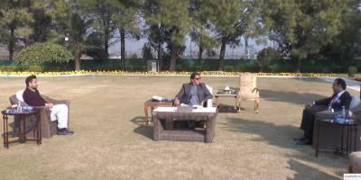 وزیراعظم عمران خان سے لارڈ عامر سرفراز کی ملاقات