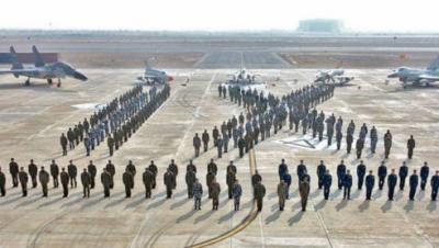 پاک چین فضائی مشق شاہین اختتام پذیر