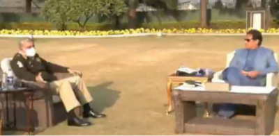 وزیراعظم اور آرمی چیف کی ملاقات، سیکیورٹی صورتحال پر تبادلہ خیال