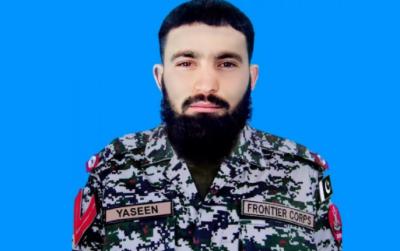 دہشتگردوں کا سیکیورٹی فورسز حملہ، فائرنگ کے تبادلے میں 2 دہشت گرد ہلاک، ایک جوان شہید