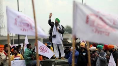 نئی دلی میں کسانوں کے احتجاج کو ایک ماہ مکمل