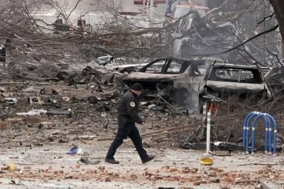امریکی شہر نیشول میں کرسمس پر دھماکا، 3 افراد زخمی