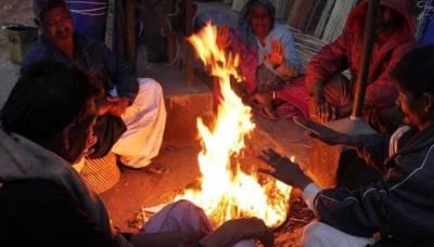 کراچی میں ٹھنڈا ٹھار موسم، رواں سال کی سرد ترین رات