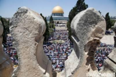 اسرائیل کی جانب سےنمازی رایدہ سعید پر 6 ماہ کے لیے مسجد اقصیٰ میں داخلے پرپابندی