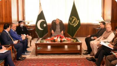 اسپیکر قومی اسمبلی سے افغانستان کے وزیر برائے تجارت و صنعت ناصر احمد غوریانی کی ملاقات