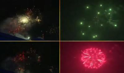سال نو مبارک ، 2021 شروع ہو گیا، پاکستان میں نئے سال کا جشن جوش و خروش کے ساتھ جاری