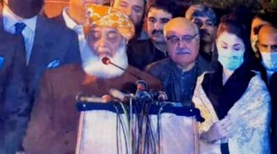 مسلم لیگ ن کے تمام استعفے میرے پاس آچکے،مریم نواز، حکومت کے پاس 31جنوری تک کی مہلت ہے۔مولانا فضل الرحمن