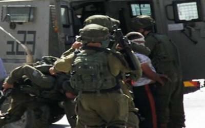 رملہ: اسرائیلی فوج کی گھر گھر تلاشی،15فلسطینی گرفتار