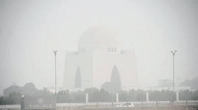 کراچی کی فضا انتہائی مضر صحت
