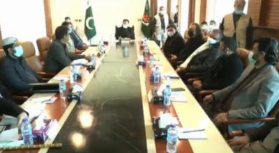 کوئٹہ، وزیراعظم عمران خان کی زیر صدارت امن و امان کے حوالے سے اہم اجلاس