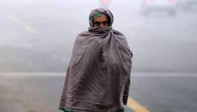 کراچی میں سائبیرین ہواؤں کے باعث موسم سرد