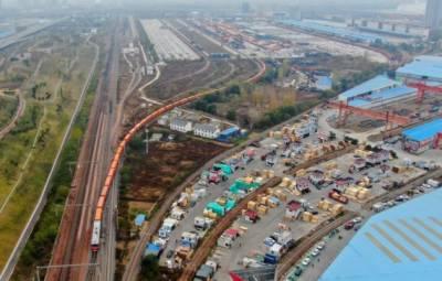 منگولیا سرحدی بندرگاہ پر چین اور یورپ مال بردار ٹرینوں کی ریکارڈ آمدورفت