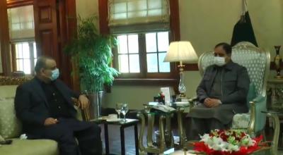 وزیراعلیٰ پنجاب سے سینئر وزیر علیم خان کی ملاقات ہوئی