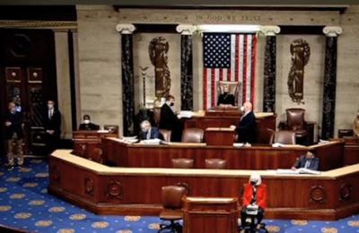 امریکی ایوان نمائندگان میں ٹرمپ کو ہٹانے کی قرارداد منظور کرلی گئی
