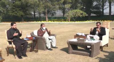 وزیراعظم عمران خان کی مرحوم اسامہ ستی کے والد ندیم یونس ستی سے ملاقات