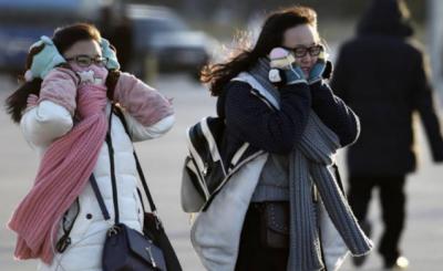 چین کے شمالی علاقوں میں تیز ٹھنڈی اور ریتلی ہوائیں چلنے کا امکان