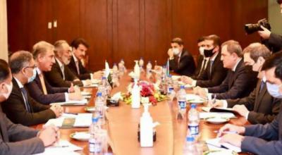 پاکستان اور آذربائیجان کااقتصادی اور توانائی شعبے میں دو طرفہ تعاون سمیت زمینی و فضائی روابط کو بڑھانے پر اتفاق
