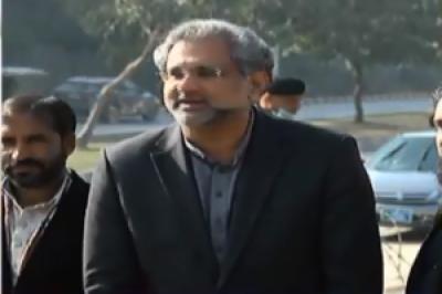 'احتساب کا یکطرفہ نظام نہیں چل سکتا، دوسروں کو چور کہنے والے کٹہرے میں کھڑے ہیں: شاہد خاقان عباسی
