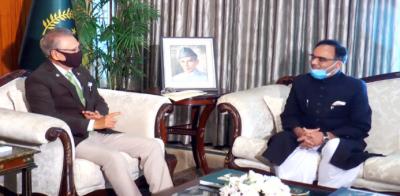 پاکستان مختلف شعبوں میں میکسیکو کے ساتھ تعاون کو مزید فروغ دینے کا خواہاں ہے:صدر عارف علوی