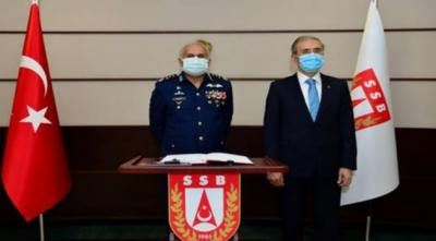 ترکی میں ایئرچیف مارشل مجاہد انور خان اور ترک دفاعی صنعتوں کے صدر سے ملاقات، ترک دفاعی پیداوار کے شعبے کے ساتھ تعلقات مزیدمستحکم بنانے کا عزم