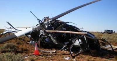امریکا میں فوجی ہیلی کاپٹر گر کر تباہ، 3 اہلکار ہلاک