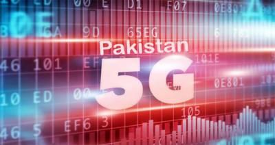 پاکستان 23-2022 تک فائیو جی سروس حاصل کر لے گا، رپورٹ