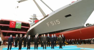 پاک بحریہ کے تیسرے ملجم کلاس جہاز کی تیاری ترکی میں شروع
