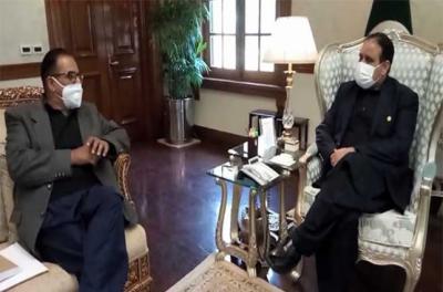 وزیراعلیٰ پنجاب سے لیگی ایم پی اے محمد ارشد کی ملاقات، عثمان بزدار پر اعتماد کا اظہار