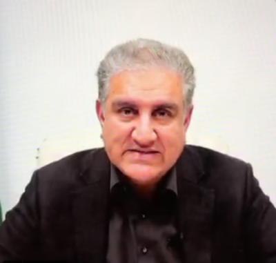 وزیر خارجہ شاہ محمود کا قیام امن کیلئے فنڈ میں 25 ہزار ڈالر عطیہ کرنیکا اعلان