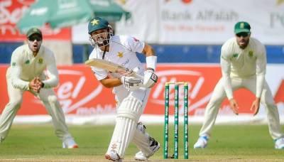کراچی ٹیسٹ: پاکستان پہلی اننگز میں 378 رنز پر آؤٹ، جنوبی افریقا پر 158 رنز کی برتری