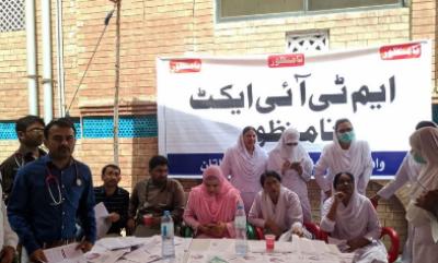 پنجاب میں ٹائیفائیڈ سے بچا ئو مہم کا آغاز