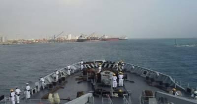پی این ایس نصر کا افریقی ممالک جبوتی اور سوڈان کا خیر سگالی دورہ