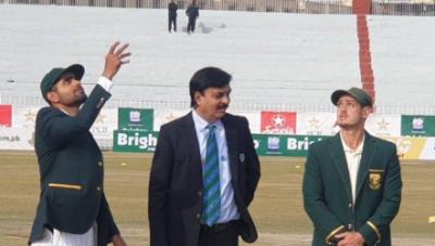راولپنڈی ٹیسٹ: پاکستان کا ٹاس جیت کر بیٹنگ کا فیصلہ