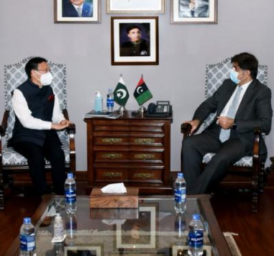 وزیراعلیٰ سندھ سید مراد علی شاہ سے چین کے کراچی میں قونصل جنرل مسٹر لی بیجین کی ملاقات