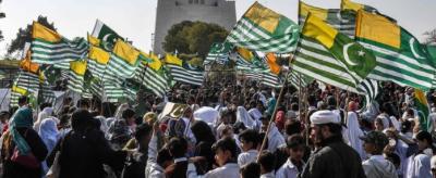 پاکستان سمیت دنیا بھر میں آج یوم یکجہتی کشمیر منایا گیا