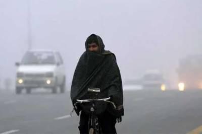 ملک کے اکثر علاقوں میں موسم سرد اور خشک رہے گا: محکمہ موسمیات