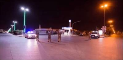 سعودی پولیس جدہ جانے والے راستے سیل کردئیے