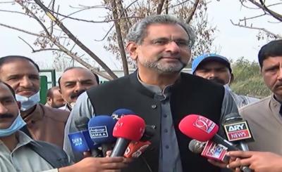 صدارتی آرڈیننس کو عدالت میں چیلنج کریں گے: شاہد خاقان عباسی